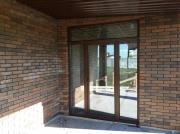 Фото пластикових дверей - вихід на терасу