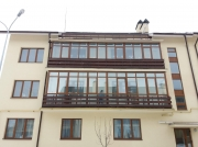"""Монтаж балкону в комплексі """"Бородіно"""". Одностороння ламінація вікна """"Steko"""""""