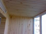 Балкон під ключ. Внутрішня обшивка дерев'яною вагонкою