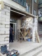 остекление входа в магазин окнами wds - 2