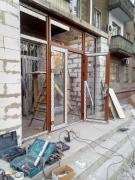 остекление входа в магазин окнами wds - 7