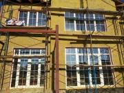 Монтаж вікон Rehau70 зі шпросами